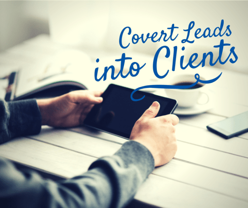 Convert Leads into Clients