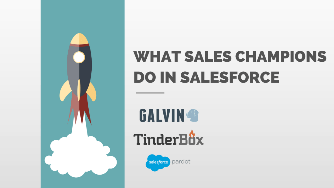 What Sales Champions Do In Salesforce