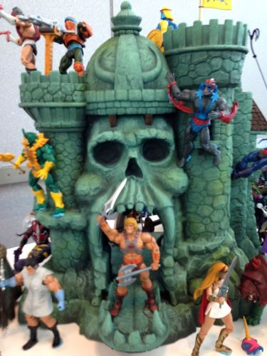 He-Man and Castle Greyskull