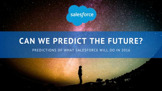 Salesforce Predictions
