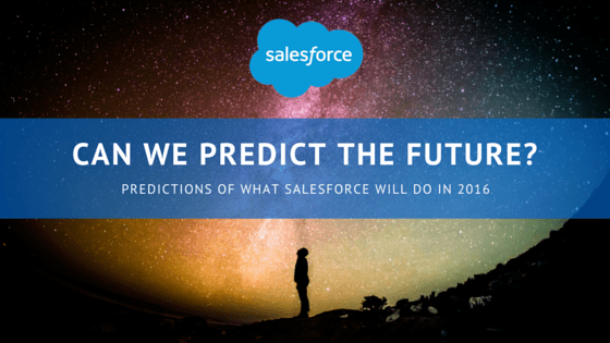 Salesforce Predictions