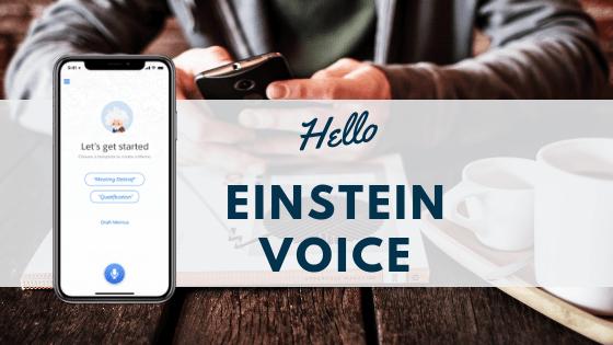 Salesforce Einstein Voice