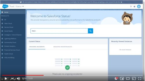 How to find the Salesforce release date