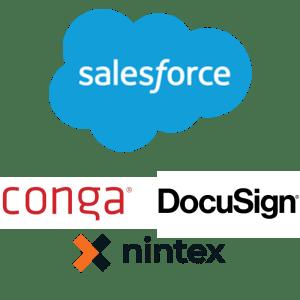 Salesforce Ninetex DocuSign Conga
