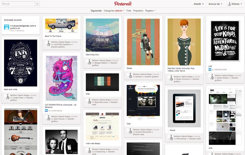 Pinterest, red social
