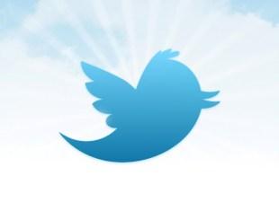 Twitter background con logo