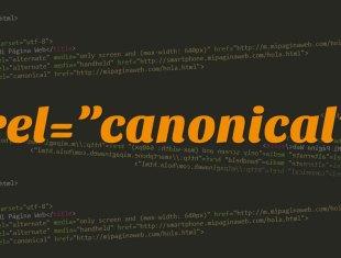 Rel-Canonical y versiones web móviles
