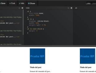 Mostrar entradas de una categoría en WordPress