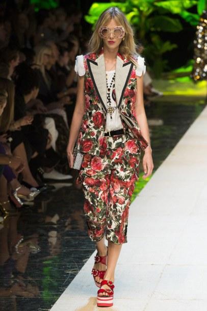 Dolce & Gabbanna SS'17 via Vogue.com
