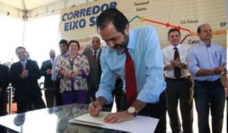Governador lança obras do VLP