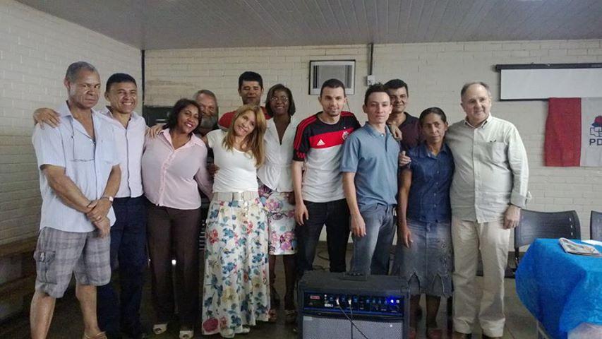 PDT OFICIALIZA 17ª ZONAL DO GAMA