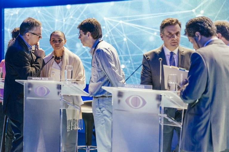 Eleições: No primeiro debate entre presidenciáveis, Marina Silva parte para o ataque