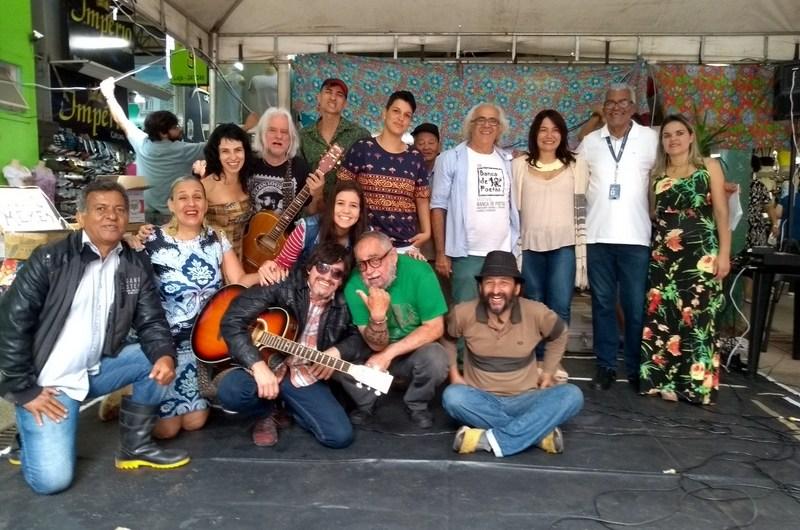 20ª Edição do Sarau Nacional Banca de Poetas movimentou a feira do Guará no último sábado