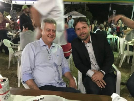 Rollemberg e Joe se reaproximam na AgroBrasilia