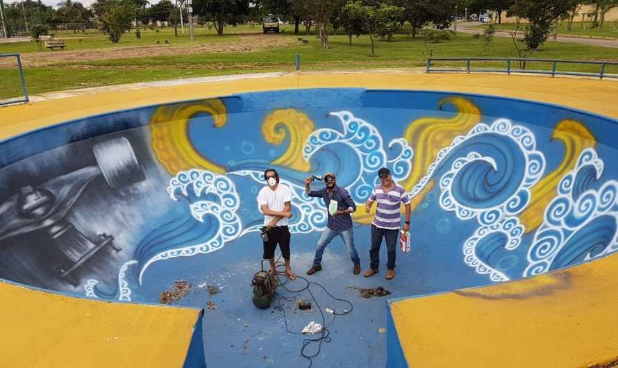 Administração do Gama lança projeto Spray Legal