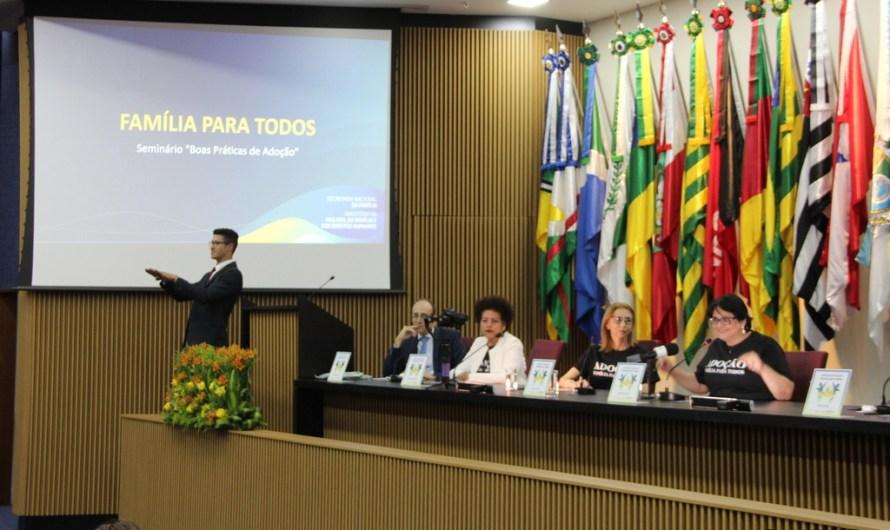 Seminário Boas Práticas de Adoção: Família para Todos acontece no Ministério da Família