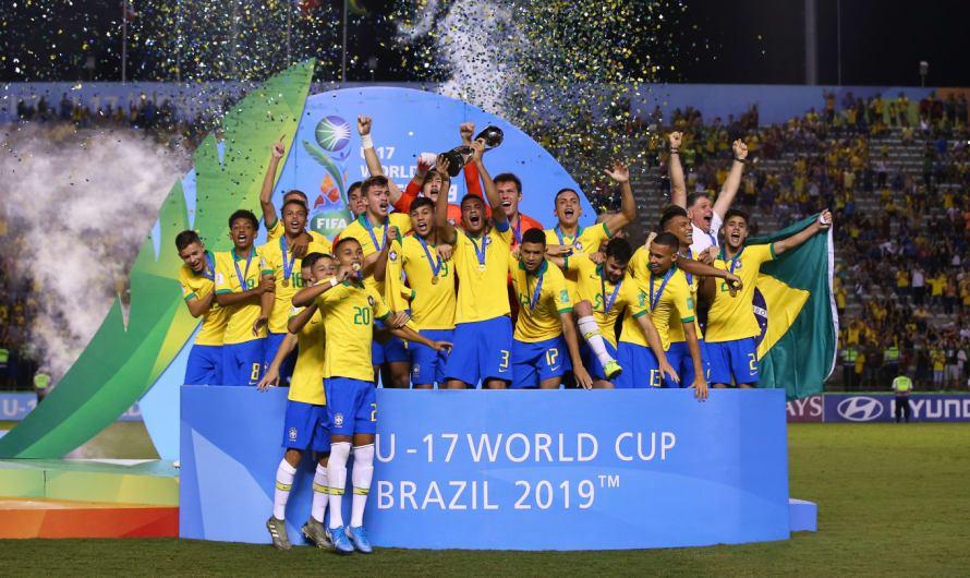Brasil vence o México e é campeão Mundial Sub-17