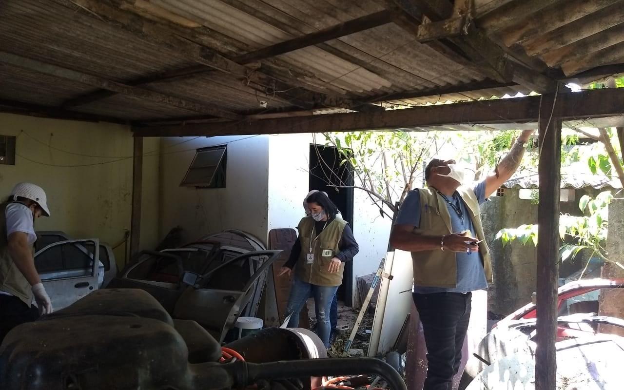 Sanear Dengue vistoria 1.180 imóveis no Gama