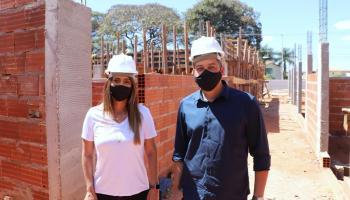 Dobradinha Daniel Donizet e Flávia Arruda garante obras importantes para o Gama