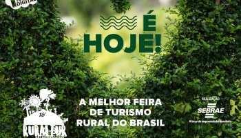 16ª Ruraltur realiza encontro digital gratuito com foco no turismo rural e de natureza para estudantes