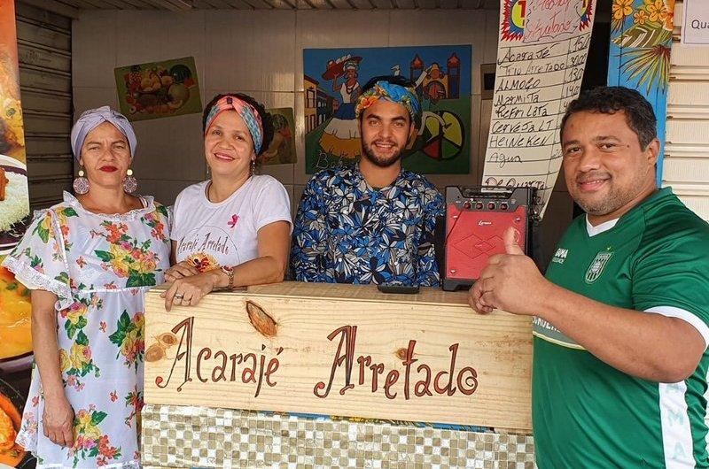 Acarajé Arretado, sem dúvida, a melhor opção da Culinária Baiana, no Gama