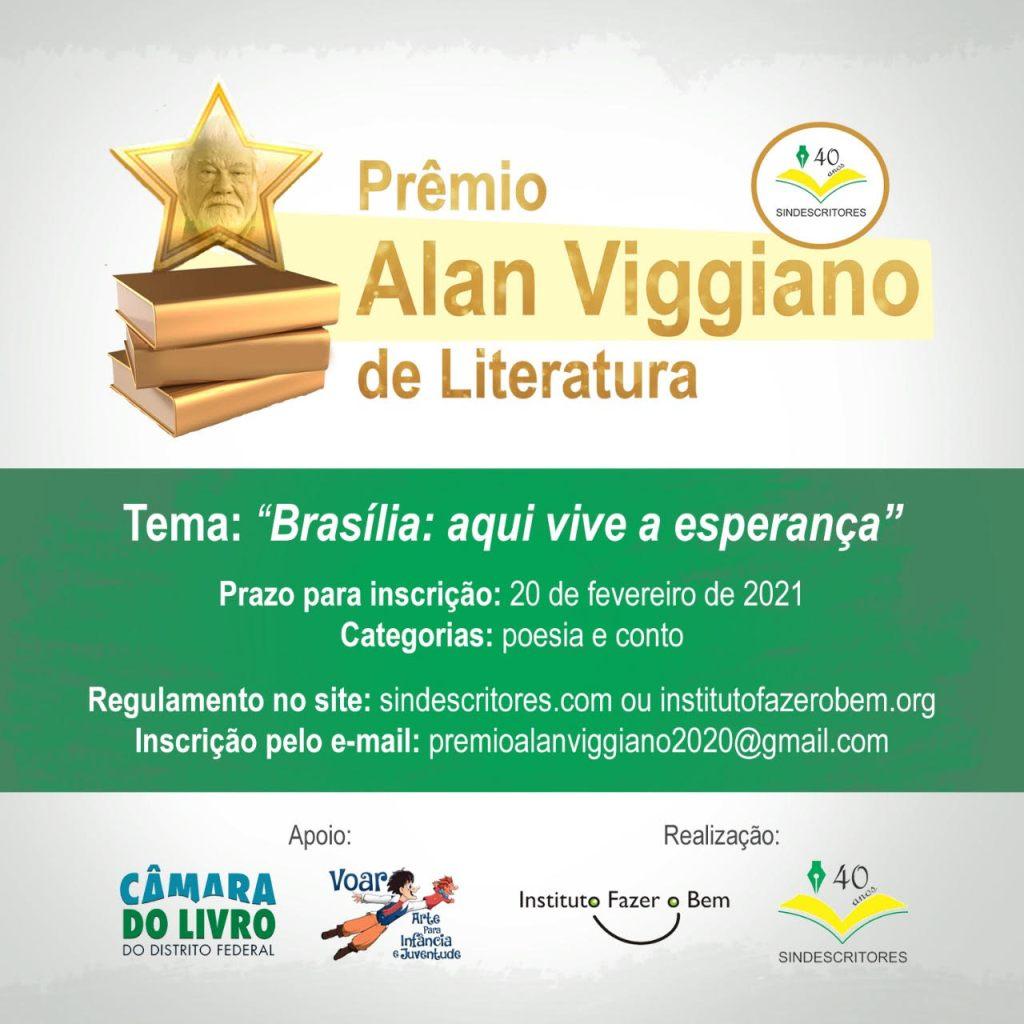Sindescritores lança concurso literário para homenagear Brasília