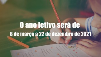 2021 terá aulas aos sábados e ano letivo vai até 22 de dezembro