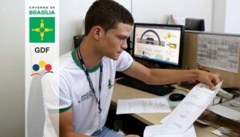 GDF abre inscrições para estágio bolsa-auxílio é de R$ 600,00