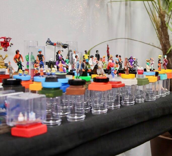 Artesãos do DF comemoram a participação no Brasília Iluminada