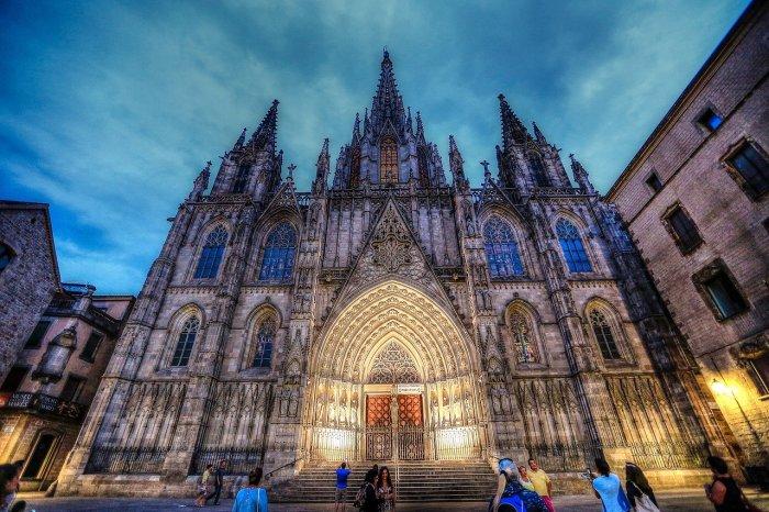 Кафедральный собор, Готический квартал Барселоны