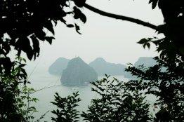 Die Bucht vom Felsen aus