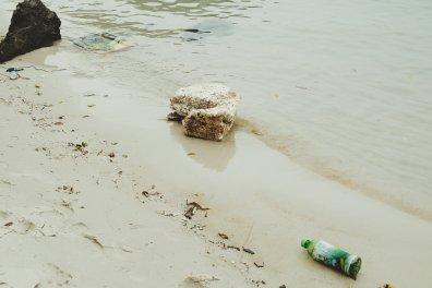 Müll im Wasser