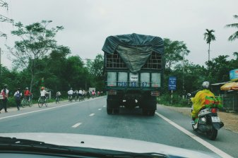 Auf dem Weg nach Hoi An