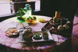 Unser Tee, Kaffee und Gebäck im Teehaus