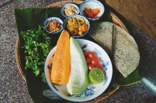 Zutaten für den Papaya-Salat