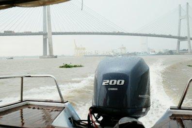 Brücke in Ho Chi Minh City