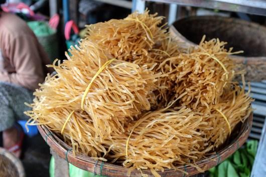 Noodles for cao lau