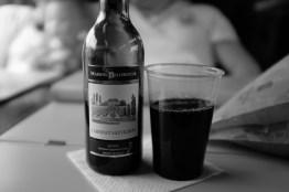 Wein im Zug