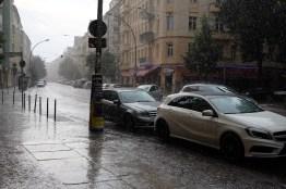 Unwetter in Friedrichshain