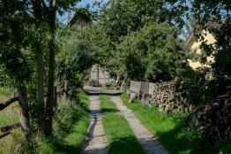 Zufahrt zum Bauernhof
