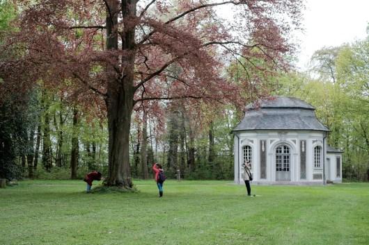 Im Park des Schlosses Falkenlust