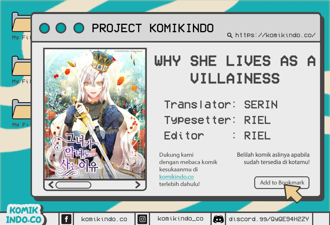 Why She Lives as a Villainess Chapter 01