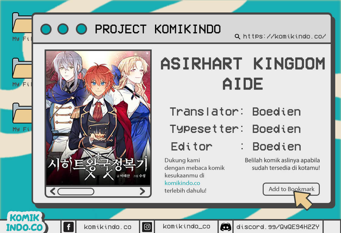 Asirhart Kingdom Aide Chapter 09