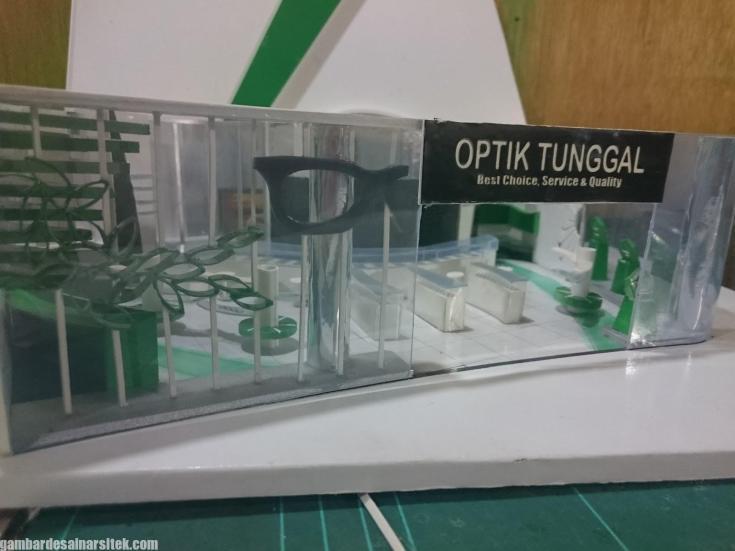 Maket Arsitektur Miniatur Model 23 e
