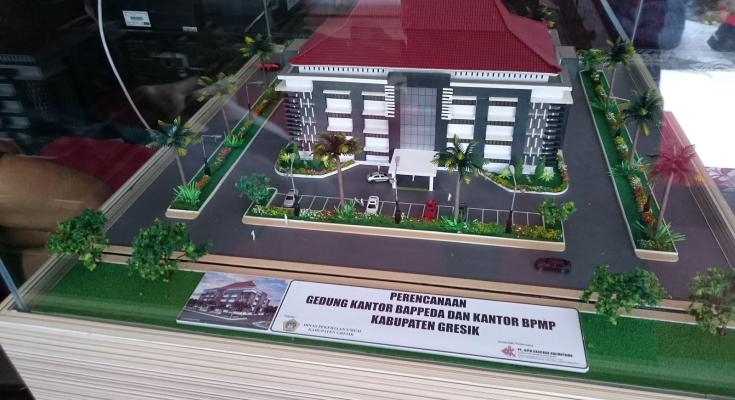 Maket Arsitektur Miniatur Model 27 b