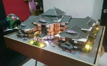 Maket Arsitektur Miniatur Model 29 a