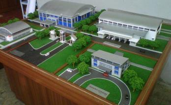 Maket Arsitektur Miniatur Model 7