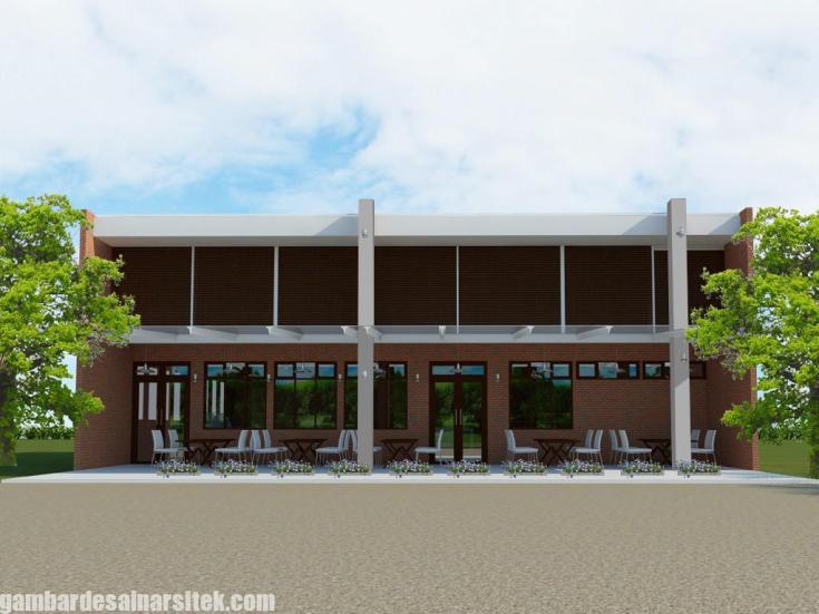 Desain Rumah Minimalis Tropis Model 7 (3)