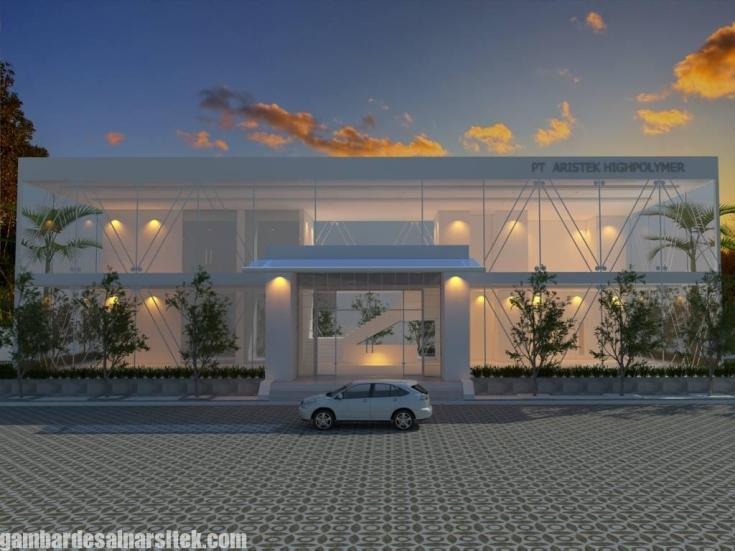 Desain Gedung Kantor Minimalis (3)