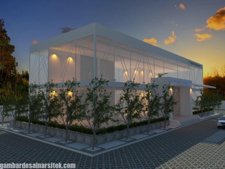 Desain Gedung Kantor Minimalis (6)